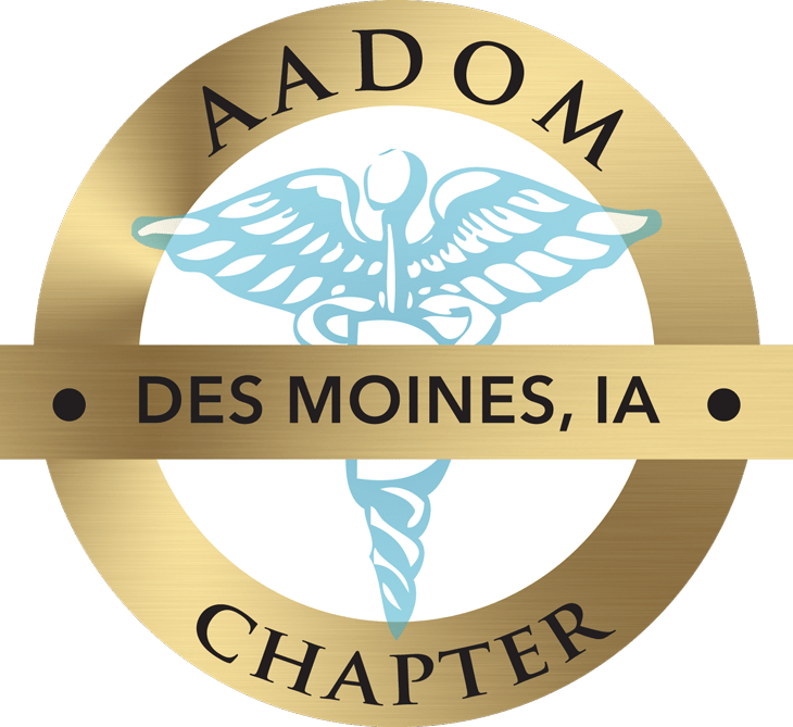 Des Moines, IA AADOM Chapter logo