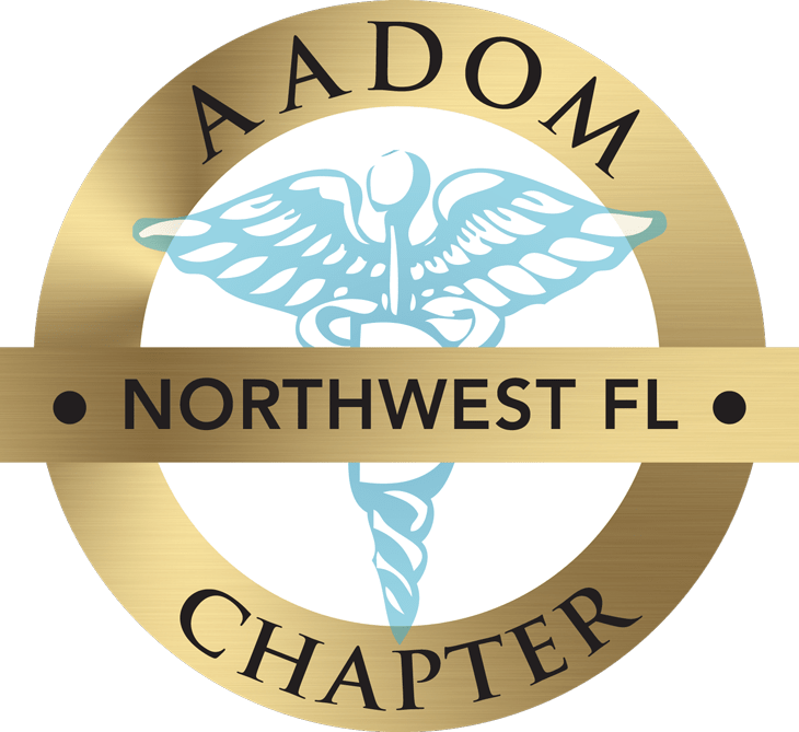 Northwest FL AADOM Chapter logo