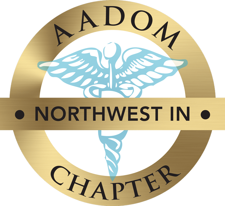 Northwest IN AADOM Chapter logo