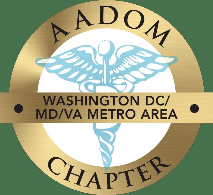 Washington DC/MD/VA Metro Area AADOM Chapter logo