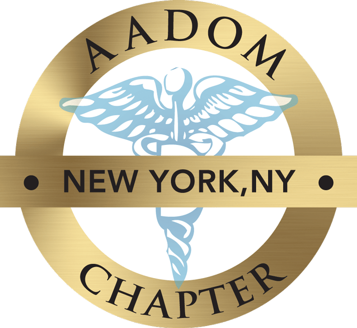 New York NY AADOM Chapter logo